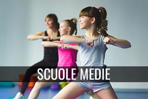 Corsi ginnastica scuole medie