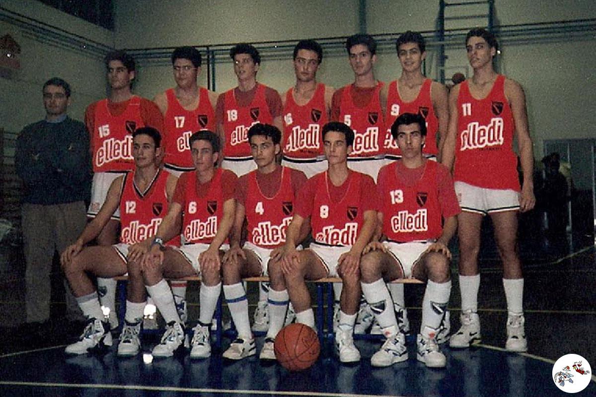 Squadra del Petrarca Padova - 1990