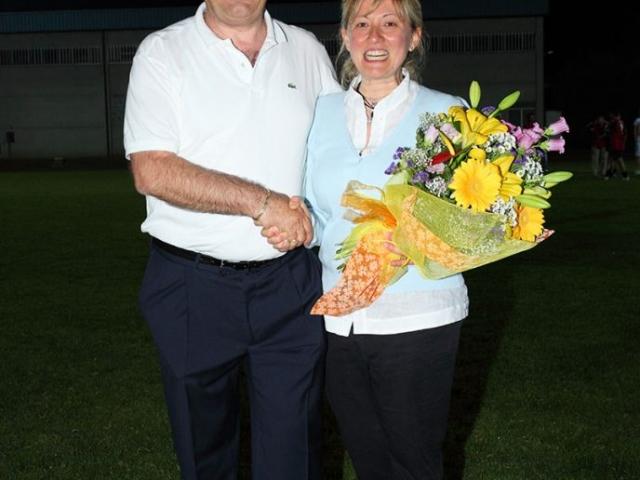 Alessandra Govoni e Carlo Baldissara nel 2011