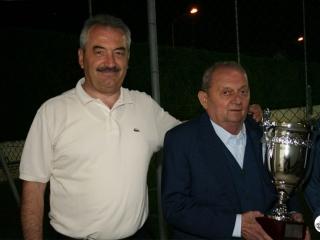 Franco Govoni alle premiazioni del 2010
