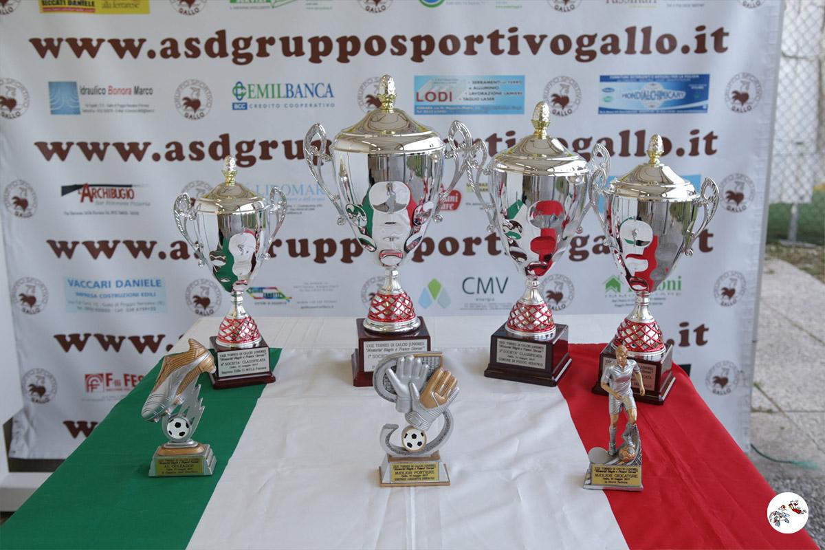 Le coppe del 29° Torneo Govoni del 2017