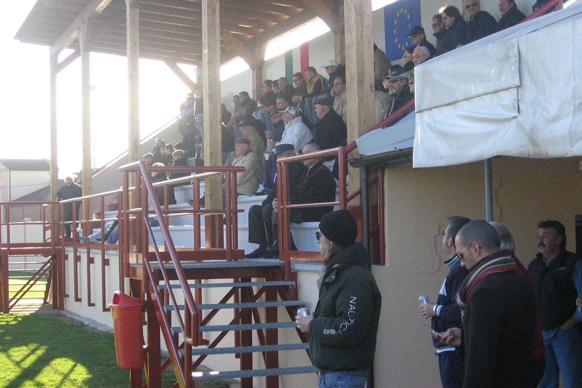 Inaugurazione della tribuna - 10 dicembre 2006
